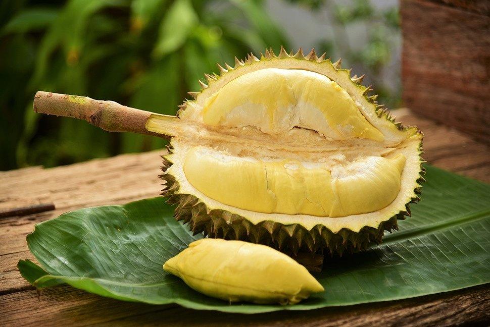Экзотический фрукт дуриан